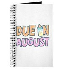 Due In August Girl Journal