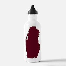 qatar_map Water Bottle
