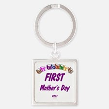 mommys1st2011 Square Keychain