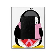 Pink-Ribbon-Penguin-Scarf Picture Frame