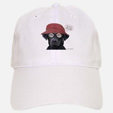 Black Lab Optometrist Baseball Baseball Cap