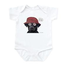 Black Lab Optometrist Infant Bodysuit