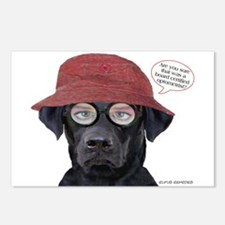 Black Lab Optometrist Postcards (Package of 8)