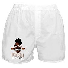 Natural Funky Updo Boxer Shorts