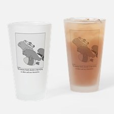 Save the Manatee Drinking Glass