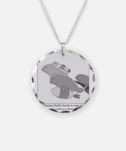 Save the Manatee Necklace