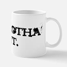 Sprayed Tee 10%22 Mug