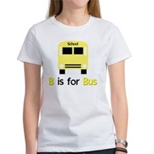 yellow kids school bus Tee