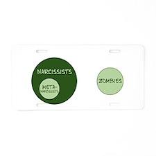 2011-01-07-0001 Aluminum License Plate