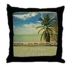 paradiset10x10_apparel Throw Pillow