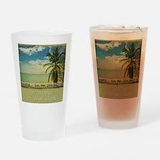 paradiset10x10_apparel Drinking Glass