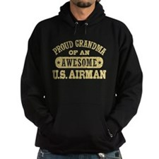 Proud Grandma of an Awesome US Airman Hoodie