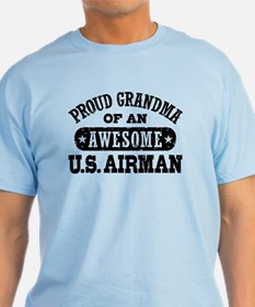 Proud Grandma of an Awesome US Airman T-Shirt