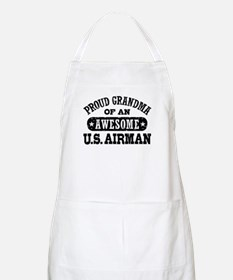 Proud Grandma of an Awesome US Airman Apron