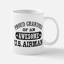 Proud Grandma of an Awesome US Airman Mug