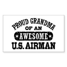 Proud Grandma of an Awesome US Airman Decal