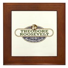 Theodore Roosevelt National Park Framed Tile