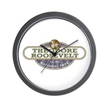 Theodore Roosevelt National Park Wall Clock