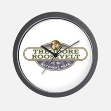 Theodore Roosevelt National Park Wall Clock