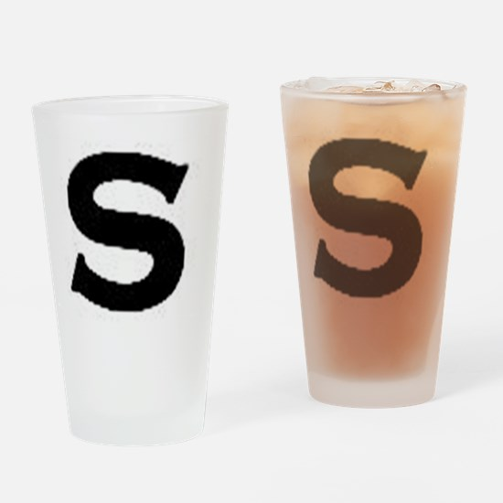S Drinking Glass