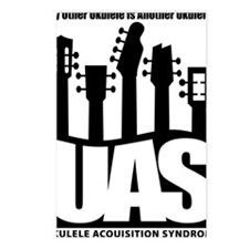 Ukulele UAS Postcards (Package of 8)