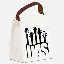 Ukulele UAS Canvas Lunch Bag
