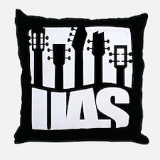 Ukulele UAS Throw Pillow