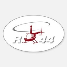 R44 Rectangle Decal