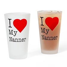 I love my Nanner.eps Drinking Glass