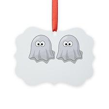 Deja Boo White Ornament