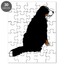 Sitting Bernese Mountain Dog (no-logo)01 Puzzle