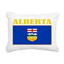 Alberta-Flag(B) Rectangular Canvas Pillow