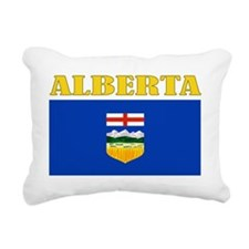 Alberta-Flag Rectangular Canvas Pillow