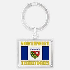 Northwest Territories-Flag Landscape Keychain