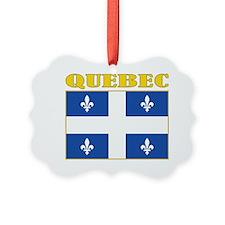 Quebec-Flag Ornament