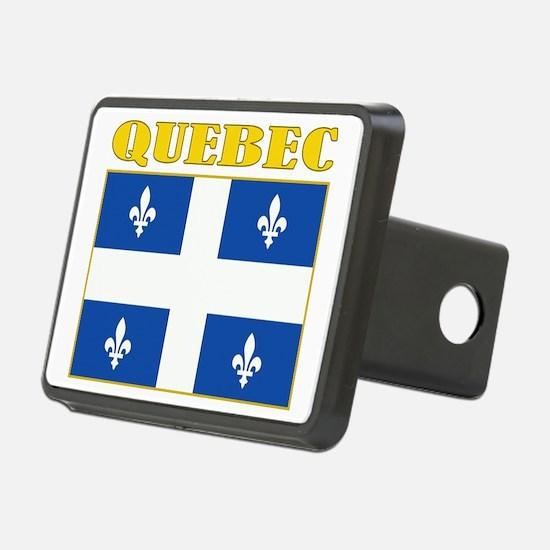 Quebec-Flag Hitch Cover