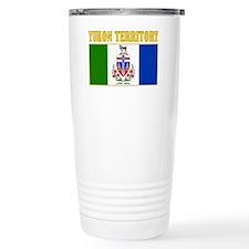 Yukon Territory-Flag Travel Mug