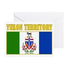 Yukon Territory-Flag Greeting Card