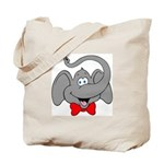 Cute Elephant Cartoon Tote Bag