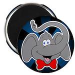 "Cute Elephant Cartoon 2.25"" Magnet (10 pack)"