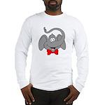 Cute Elephant Cartoon Long Sleeve T-Shirt