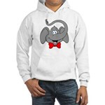 Cute Elephant Cartoon Hooded Sweatshirt