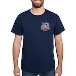 Cute Elephant Cartoon Dark T-Shirt