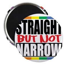 Straingt-But-Not-Narrow Magnet