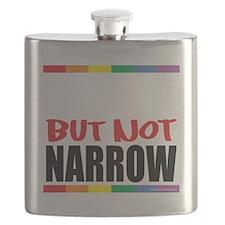 Straingt-But-Not-Narrow-blk Flask