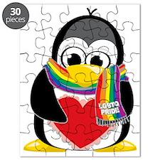 LGBTQ-Pride-Penguin-Scarf Puzzle