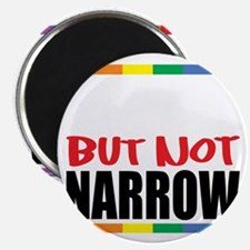 Straingt-But-Not-Narrow-blk Magnet