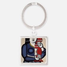 Leger Woman holding a vase 78iPad Square Keychain