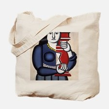 Leger Woman holding a vase 78iPad Tote Bag