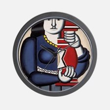 Leger Woman holding a vase 78iPad Wall Clock